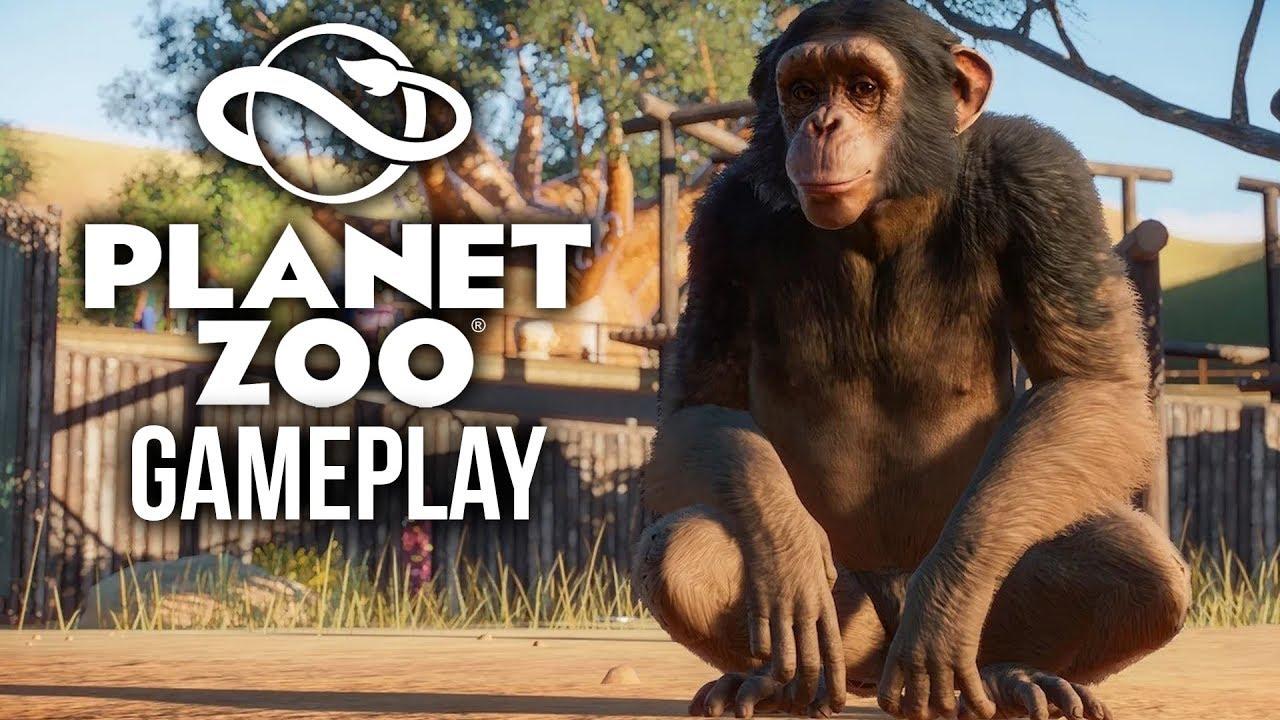 PLANET ZOO-Gameplay - 15 Minuten E3-Gameplay + video