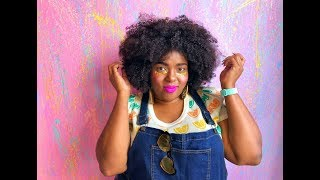 Plus Size OOTD: Colorful Fruity Fun