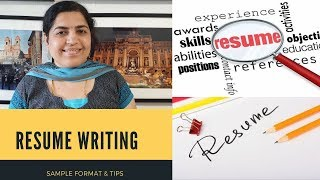 Resume writing - Format & Tips in Tamil | How to write effective resume.