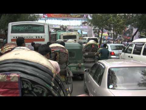 Bangladesh Traffic jam Mirpur Dhaka