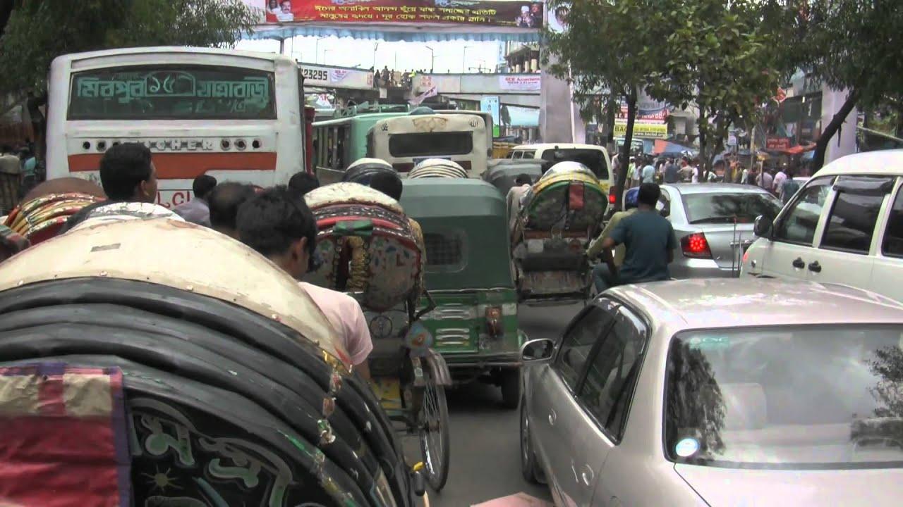 Report on traffic jam in bangladesh