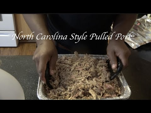 Carolina Style Pulled Pork Recipe | Smoked Pork Shoulder | Southern Smoke Boss