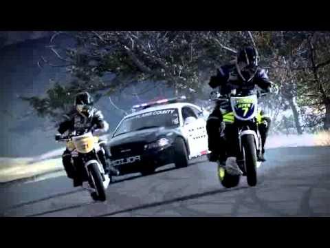 course poursuite motos vs police youtube. Black Bedroom Furniture Sets. Home Design Ideas