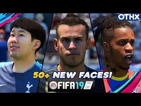 FIFA 19 | ALL 50+ Stunning NEW Player Faces, Hairstyles, Tattoos ft. Bale, Lingard, Son | @Onnethox