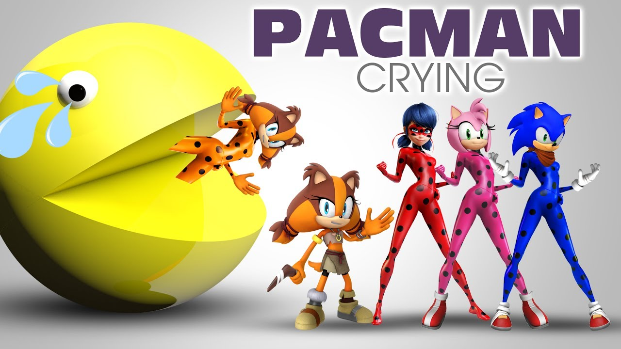 Learning Colors PACMAN and Toy Collector Sonic Boom Learn Colors 2