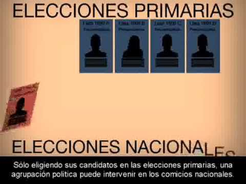 Que son las elecciones primarias