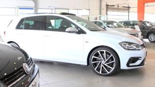 Volkswagen Nouvelle Golf R 2.0 310 Bluemotion Technology DSG7 4Motion R White Slyver Metal