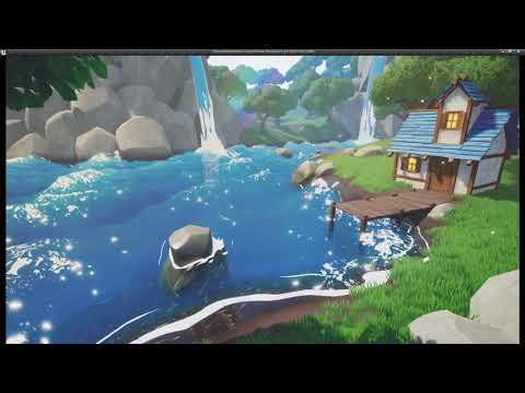 Cartoon Water Shader in UE4