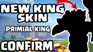 COC NEW FEBRUARY SKIN 2020/COC NEW KING SKIN/COC PRIMAL KING SKIN.