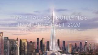 Gambar cover Top 3 telling building in middle East 2020