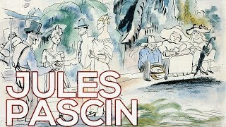 Jules Pascin: A collection of 407 works (HD)