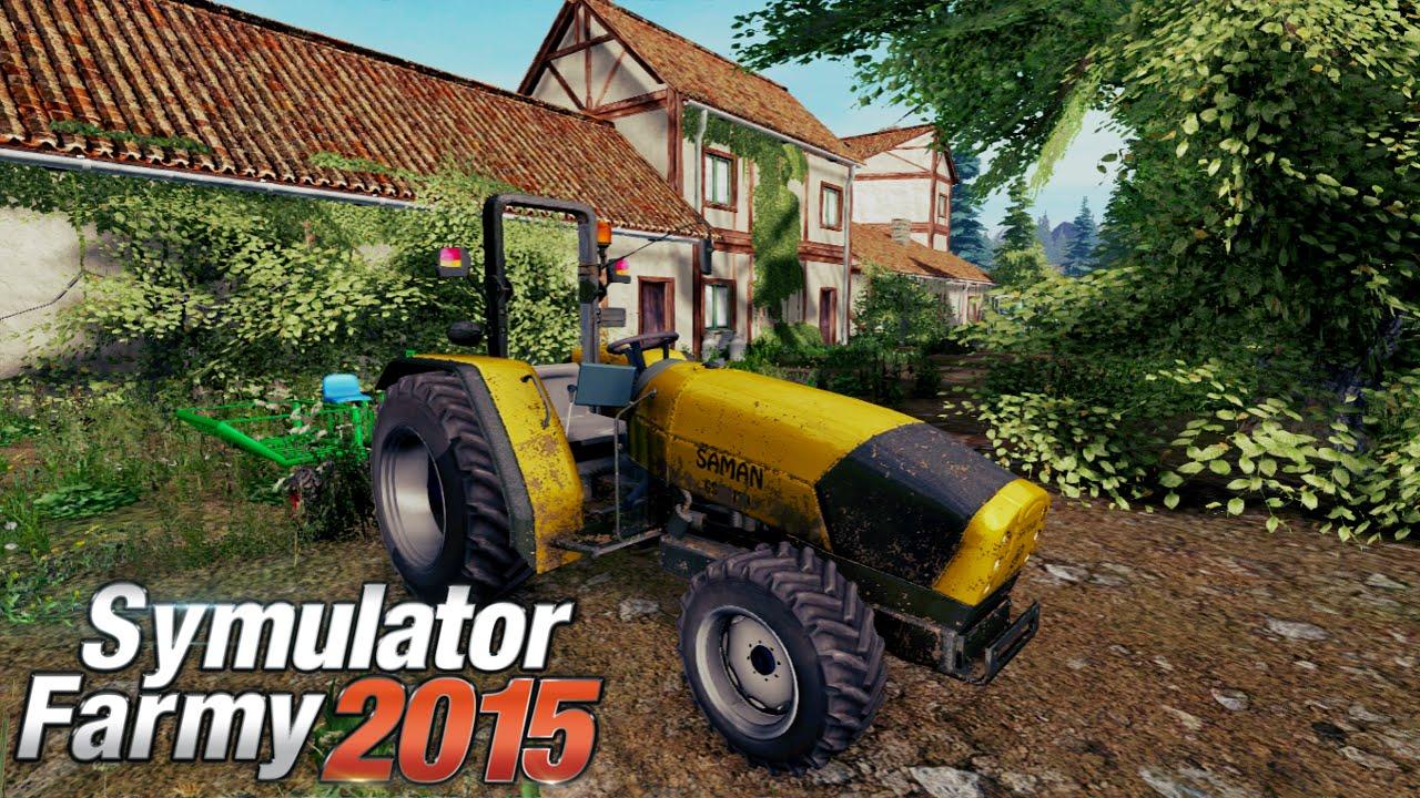 Symulator Farmy 2015 - Sadzenie drzewek - YouTube