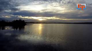 Amazing Sun Rise Danau dendam Bengkulu