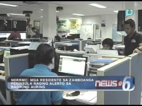 NDRRMC: Mga residente sa Zamboanga Peninsula, naging alerto sa Bagyong Auring