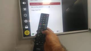 Beko Arçelik Netflix TV internete baglanma