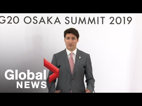 G20 Summit: Trudeau says leaders need to 'work together' on pressing issues