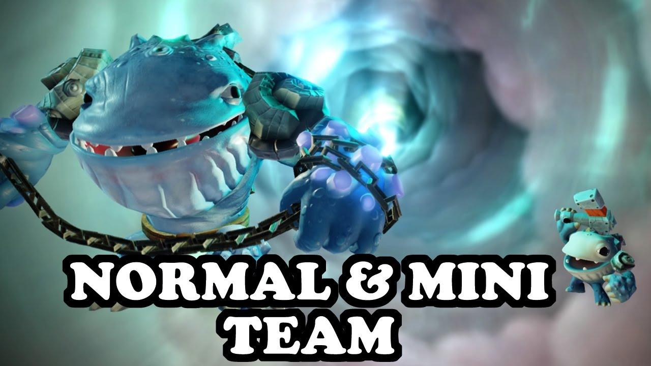 Skylanders imaginators thumpback thumpling gameplay normal mini team youtube - Skylanders thumpback ...