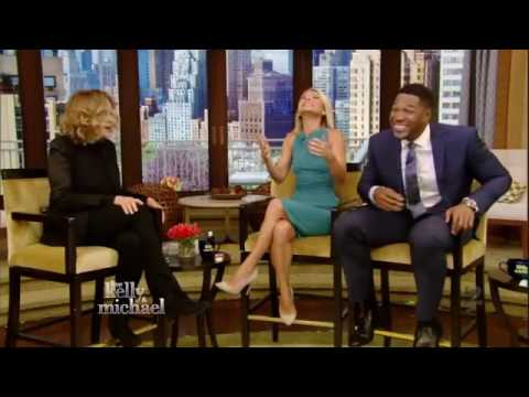 Jessica Lange interview Live! With Kelly and Michael 05/10/16