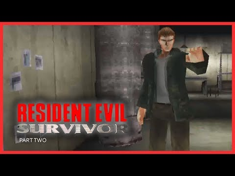 RESIDENT EVIL : SURVIVOR (PSX) - Part 2 / Easy Level | PLAYSTATION | PSX | RETRO GAMING