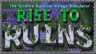 Let's Try Rise to Ruins - (Godlike Village Simulation Game / Retro Pixel Castles)