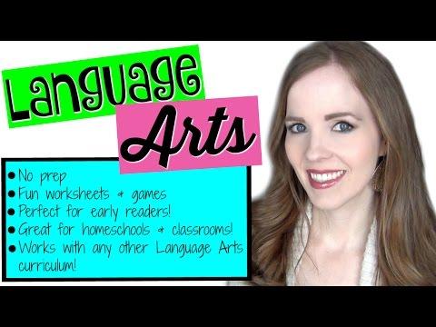1st GRADE HOMESCHOOL LANGUAGE ARTS CURRICULUM | TEACHING LANGUAGE ARTS TO KIDS