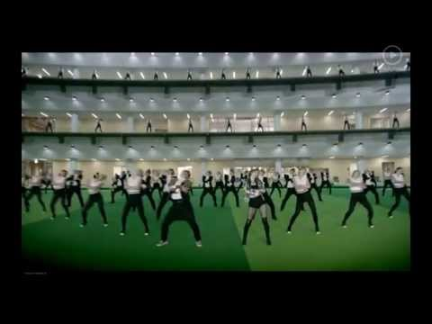PSY GENTLEMAN Official Video Bw