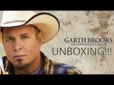 Garth Brooks: The Ultimate Collection Unboxing