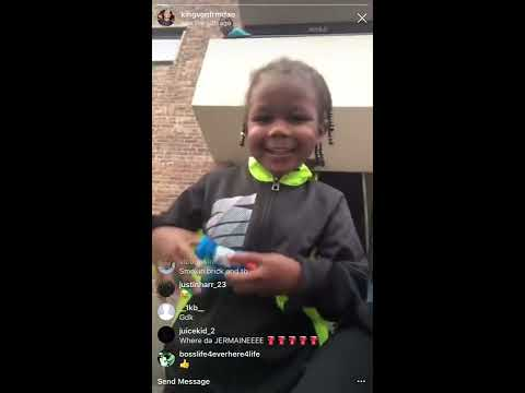 """Lil Reese & King Von In Oblock Makes Kid Say """"Fuck Tooka"""""""