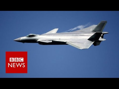 See China's new fighter jet in action - BBC News