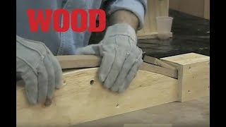 Steam-bending Basics - WOOD magazine