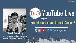 🔴📹 AYQ#29: How t๐ Prepare for your Career in Germany?