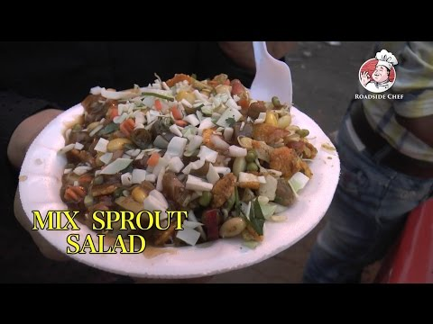 How To Make  Healthy 'MIX SPROUT SALAD' | Mix Sprout Salad Recipe | Road Side Chef