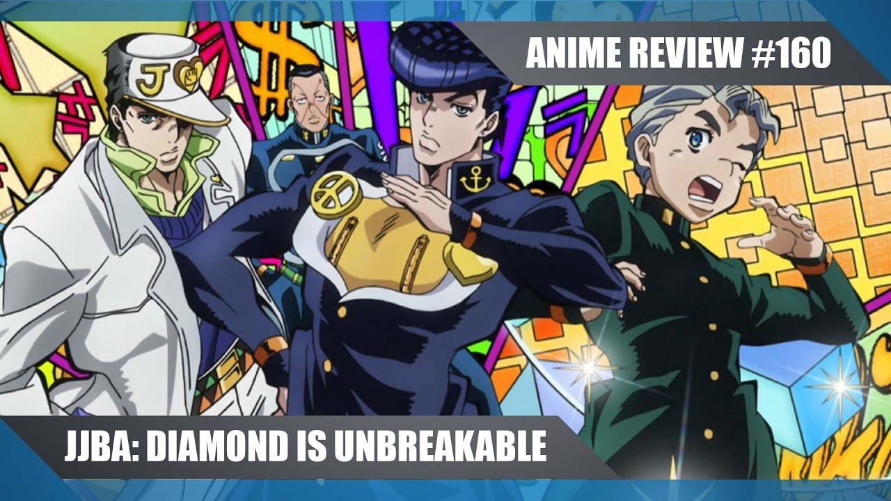 Jojos bizarre adventure diamond is unbreakable action comedy 2016 anime review 160