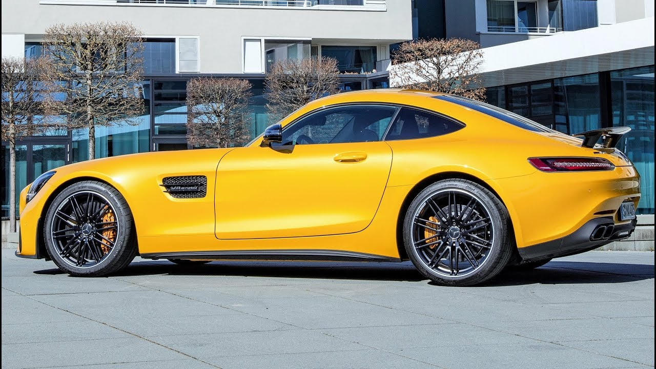 2019 mercedes amg gt s - pure driving performance