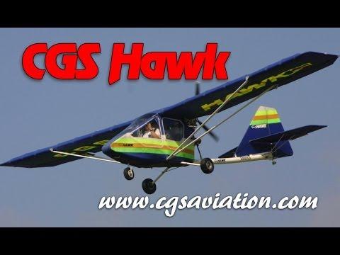 CGS Hawk, ultralight, light sport and experimental amateurbuilt aircraft from CGS Aviation