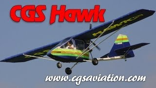 CGS Hawk, ultralight, light sport and experimental amateurbuilt aircraft from CGS Aviation