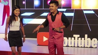 Standup Comedy Magician In Delhi India | Dheeraj Shah @YouTube Fanfest | illusionist Mentalist
