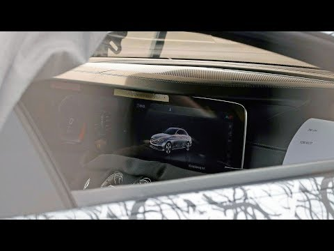 2018 AMG GT four door x290 – first look at the interior