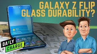 The Galaxy Z Flip boasts a foldable glass screen, but how durable is it?