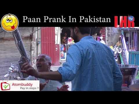 Paan Prank in pakistan
