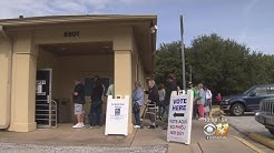 Massive Turnout On First Day Of Early Voting In North Texas