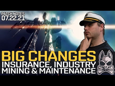 BIG CHANGES To Industry, Insurance, Mining, Maintenance & More!!    EVE Echoes