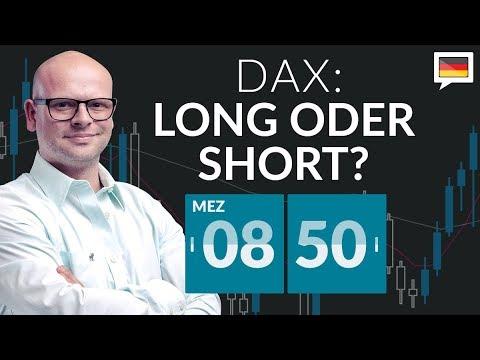 DAX: Long oder Short? - 23.04.2018