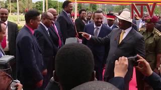 Ethiopian Premier Ahmed Abiy in Uganda, to be honoured on heroes day