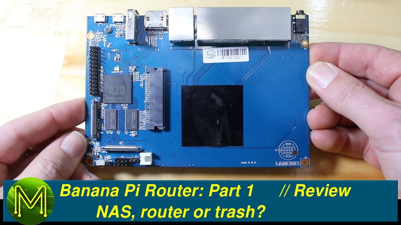 #057 Banana Pi Router: NAS, router or trash? // Review