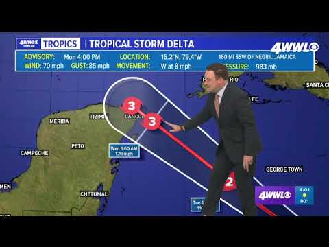 Tropical Storm Delta: National Hurricane Center says southeast ...