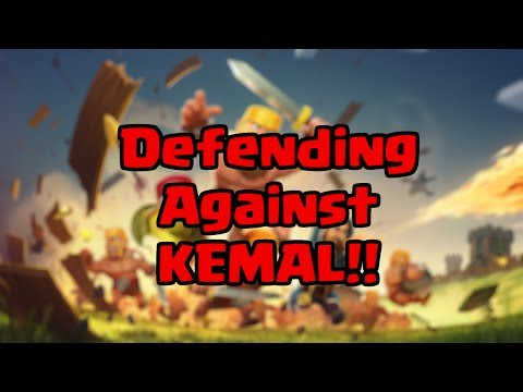 Clash of Clans - Defending against Kemal from Mega࿂星辰 !! [Top Player Raid]
