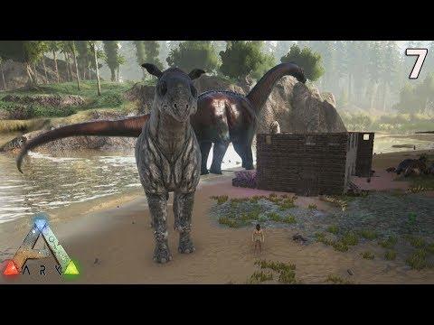 ARK Retours Aux Origine - Nous Avons Un Brontosaure & Un Paraceratherium ( S4E7 )