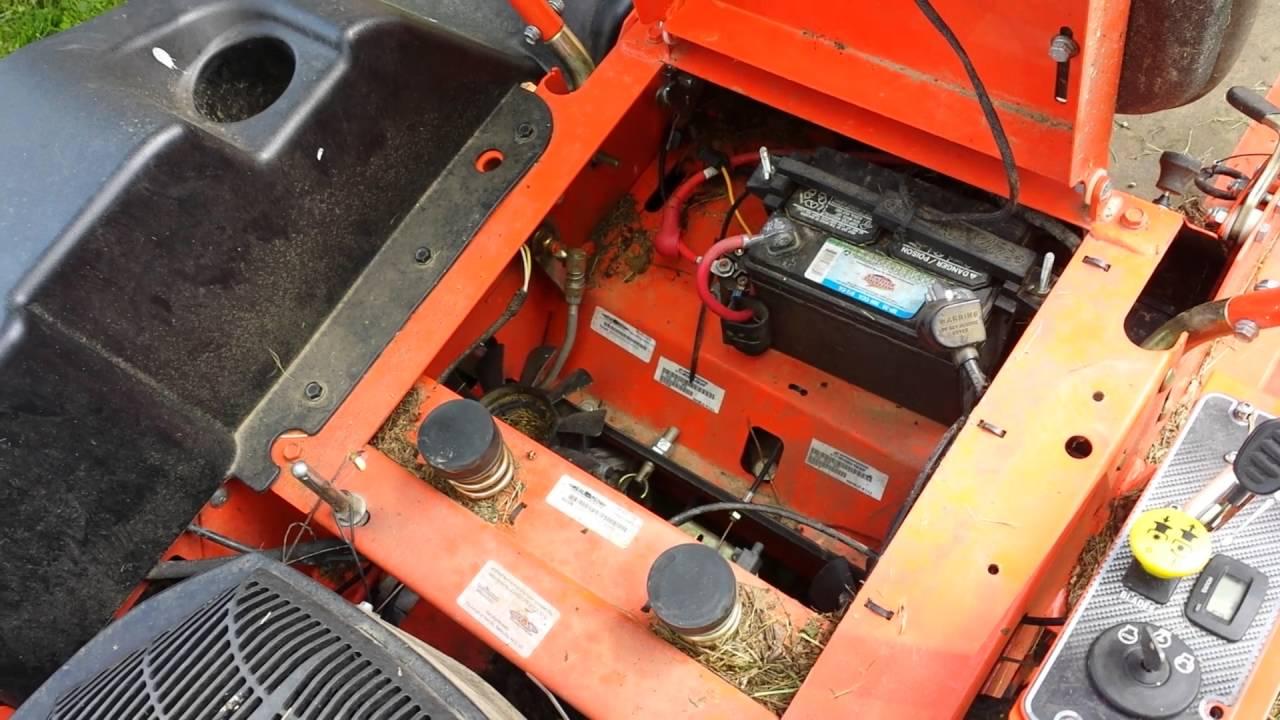 medium resolution of bad boy lawn mower not wanting to start