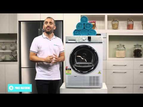 Fisher & Paykel DE8060P2 8kg Condenser Dryer Overview - Appliances Online